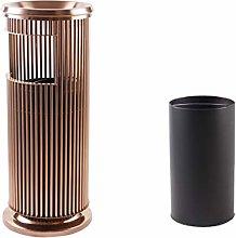 Bin/Wastebasket Metal Outdoor Trash Can With