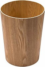 Bin/Wastebasket Solid Wood Trash Can, Nordic Style