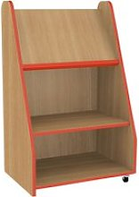 Bind Mobile Book Display Unit, Red
