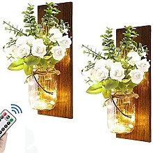 Binghai Rustic Wall Sconces Sconces Handmade Wall