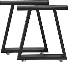 BINHC Niture Legs,40Cm Wrought Iron Table Legs