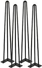 BINHC Niture Legs,4Pcs 32Inch/86Cm Steel Table