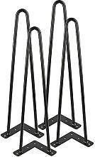 BINHC Niture Legs,4Pcs Iron Table Desk Legs Home