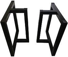 BINHC Niture Legs,Black DIY Table Leg Support/Bar