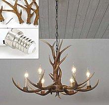 BINHC Novelty Chandelier Ceiling Light, Retro