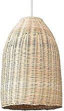 BINHC Novelty Chandelier,Rattan Basket Ceiling