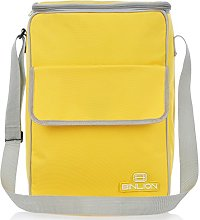 Binlion Lunch Cooler Tote Bag-Yellow