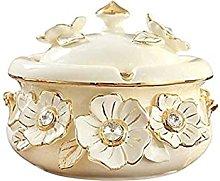 Binn Smokeless Ashtray Ceramic Ashtray Windproof