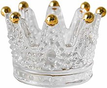 Binn Smokeless Ashtray Glass Crown Ashtray