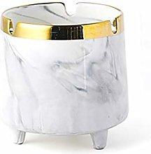 Binn Smokeless Ashtray Windproof Ceramic Ashtray