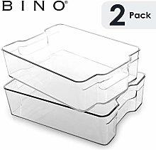 BINO Stackable Rectangular Plastic Storage
