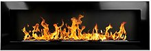 Bio Ethanol Fire BioFire Fireplace Modern 1200 x
