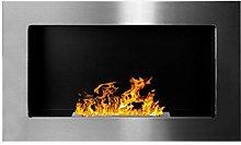 Bio Ethanol Fire BioFire Fireplace Modern 650 x