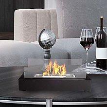 Bio Ethanol Ventless Tabletop Fireplace – Real
