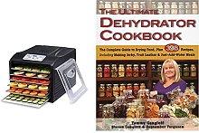 BioChef Arizona Sol 6 Tray Food Dehydrator, Black,