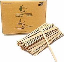 Drink Stirrer Islandoffer 2X wooden sticks coffee Stirrers