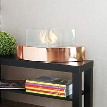 Bioethanol design table fireplace to give