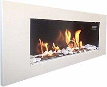 Biokamin XXL Model Plus Wall Fireplace with 24