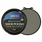 Birch Renovating Shoe Polish Black Light Tan Dark