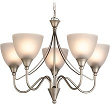 Birchover 5-Light Shaded Chandelier ClassicLiving
