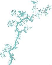 Bird Branch Sticker by Domestic Blue