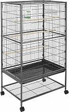 Bird cage 131cm high - bird aviary, parrot cage,