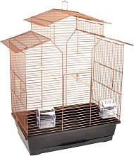 Bird Cage Numfor 1 Copper 51x30x60 cm - Flamingo