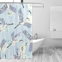 Bird Flower Tree_ shower curtain 3d cheap shower