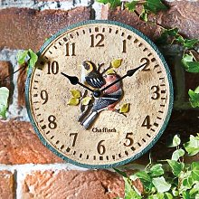 Bird Garden Clock by Coopers of Stortford