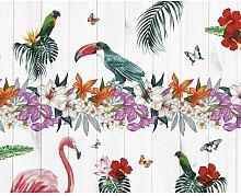Bird of Paradise Matte Wallpaper Wall Mural Bay