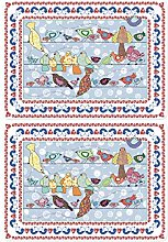 Bird PLACEMATS by MOLLYMAC Kitchen Table Dining