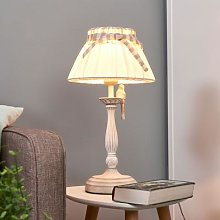 Bird - table lamp with handcrafted metal bird