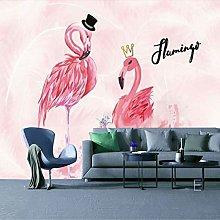 Bird Wallpaper Girl Heart Bedroom Live Room