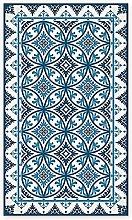 BirdsEcho Vinyl Rug Carpet 59.1 x 77.9 inch -