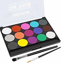 Bireegoo 1Set Body Painting Face Paint Kit for