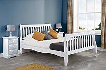 Birlea, 120cm Belford Bed, White