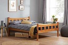 Birlea Miami Bed - Pine, Small Double