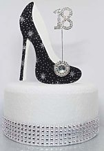Birthday Cake Decoration High Heel Shoe. Any Age.