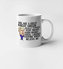 Birthday Gift for Cousin Ceramic Coffee Mug Funny