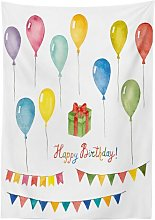 Birthday Tablecloth The Party Aisle Size: 140cm W