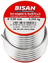 Bisan - 250g of Lead Free Plumbing Plumbers Solder