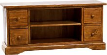 Biscottini - Country-style solid lime wood walnut