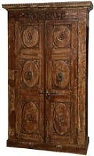 Biscottini - Wooden case/cabinet with antique doors