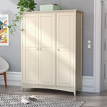 Bishop 3 Door Wardrobe August Grove