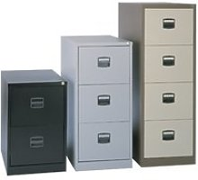 Bisley Economy Filing Cabinet (Central Handle),