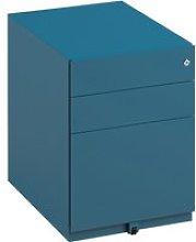 Bisley Wide Under Desk Pedestal, Blue, Free