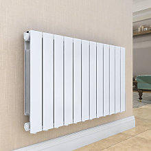 Bismo 577 x 1017mm White Wall Mounted 2000W Oil