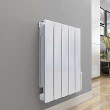 Bismo 577 x 461mm White Wall Mounted 900W Oil