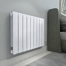 Bismo 577 x 778mm White Wall Mounted 1500W Oil