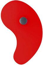 Bit 1 Wall light with plug by Foscarini Red